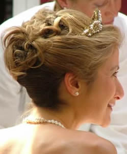 Bridal And Wedding Hairstyles Photo Gallery Of Hairstyles Of Brides And Their Bridesmaids On Their Hair Trial And Wedding Day