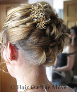 Wedding hairstyle 5.